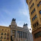 Gebäude in Sevilla Metro, nah an Piazza-Solenoid lizenzfreie stockfotos