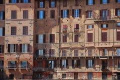 Gebäude in Siena Lizenzfreies Stockbild