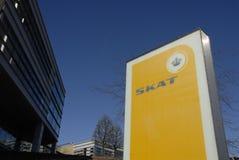 GEBÄUDE SKAT _DANISH BESTEUERUNGS-DEPARTMNET Lizenzfreie Stockfotos