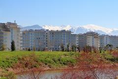Gebäude-Sochi-Park-Hotel in Adler, Russland Stockfoto