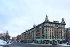 Gebäude in St Petersburg Stockfoto