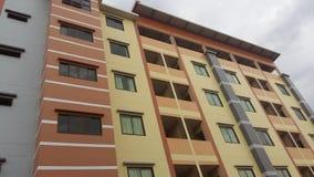 Gebäude, Straße, Farbe, Fenster, Tür, Raum Stockfoto
