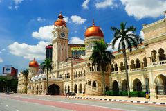Gebäude Sultan-Abdul-Samad Lizenzfreies Stockbild