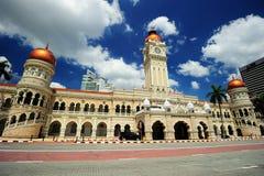 Gebäude Sultan-Abdul-Samad Lizenzfreie Stockfotografie