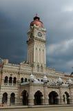 Gebäude Sultan-Abdul-Samad Lizenzfreie Stockfotos