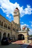 Gebäude Sultan-Abdul-Samad Stockfotografie