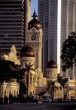 Gebäude Sultan-Abdul-Samad, Kuala Lumpur, Malaysia lizenzfreies stockfoto