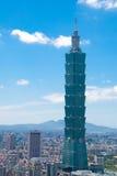 Gebäude Taipei-101 Stockfotos