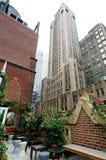 Gebäude-Terrasse Stockfotos