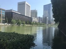 Gebäude in Tokyo lizenzfreies stockfoto