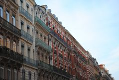 Gebäude in Toulouse lizenzfreies stockfoto