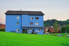 Gebäude in Turbenthal in Winterthur in Zürich-Bezirk von der Schweiz Lizenzfreie Stockbilder