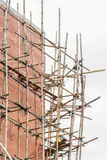 Gebäude u. Baustelle laufend Stockbild