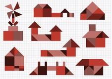 Gebäude und Bau Lizenzfreies Stockfoto