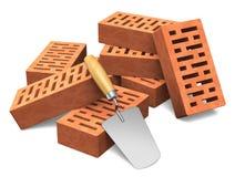 Gebäude- und Bausektorkonzept lizenzfreie abbildung