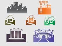 Gebäude und Häuser Lizenzfreie Stockfotografie