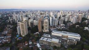 Gebäude und Häuser, Sao Paulo Stockbilder
