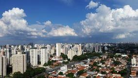 Gebäude und Häuser, Sao Paulo Lizenzfreies Stockfoto