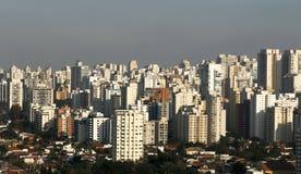 Gebäude und Häuser, Sao Paulo Stockfotos