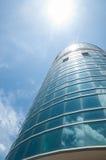 Gebäude und Himmel lizenzfreies stockbild