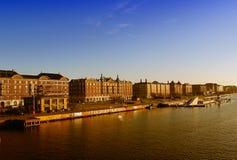 Gebäude und Kanäle, Kopenhagen Lizenzfreie Stockfotos