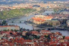 Gebäude und Stadtbild, Prag Stockbild