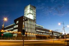 Gebäude- und Straßenlaterne Lizenzfreie Stockfotografie