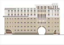 Gebäude und Strukturen vom frühen und von der Mitte des 20. Jahrhunderts Lizenzfreie Stockfotografie