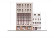 Gebäude und Strukturen vom frühen und von der Mitte des 20. Jahrhunderts Lizenzfreies Stockfoto