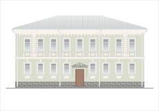 Gebäude und Strukturen vom frühen und von der Mitte des 20. Jahrhunderts Stockbild