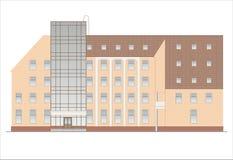 Gebäude und Strukturen vom frühen und von der Mitte des 20. Jahrhunderts Lizenzfreie Stockbilder