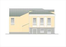 Gebäude und Strukturen vom frühen und von der Mitte des 20. Jahrhunderts Stockfoto