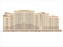 Gebäude und Strukturen vom frühen und von der Mitte des 20. Jahrhunderts Zeichnungen von Häusern der klassischen Architektur des  Stockfoto