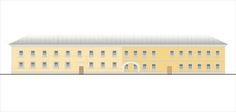Gebäude und Strukturen vom frühen und von der Mitte des 20. Jahrhunderts Zeichnungen von Häusern der klassischen Architektur des  Stockfotos