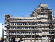 Gebäude unter Wiederherstellung lizenzfreie stockbilder