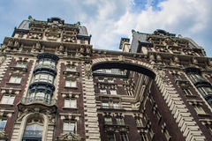 Gebäude in Upper West Side in New York lizenzfreie stockbilder