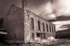Gebäude verlassen Stockbilder