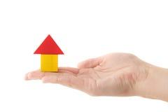 Gebäude-Versicherung stockbilder