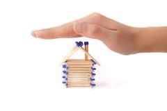 Gebäude-Versicherung lizenzfreies stockfoto