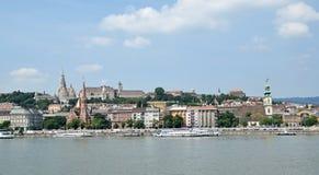 Gebäude von Budapest Stockfoto