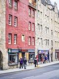 Gebäude von Edinburgh Stockfotografie