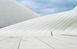 Gebäude von Heydar Aliyev Center Stockbild