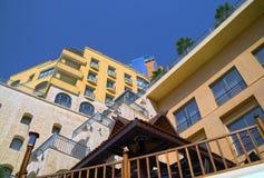 Gebäude von Hilton Hotel Lizenzfreie Stockfotos