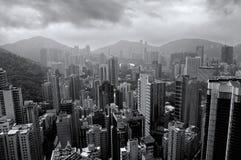 Gebäude von HK Lizenzfreie Stockfotografie