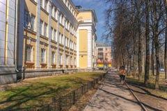 Gebäude von IvanovÐ-¾ staatlicher Universität Lizenzfreie Stockfotos