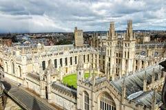 Gebäude von Oxford Stockfoto