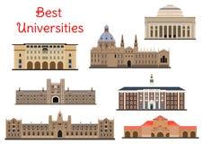 Gebäude von populären nationalen Hochschulikonen Lizenzfreie Stockfotografie
