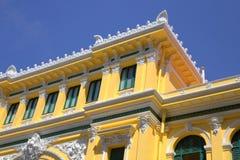 Gebäude von Post in Saigon Lizenzfreies Stockfoto