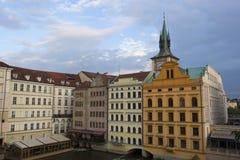 Gebäude von Prag Stockfotos
