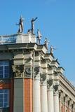 Gebäude von Rathaus in Yekaterinburg lizenzfreies stockbild